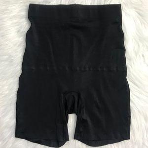 Skinny Girl black high waist bike shorts shapewear